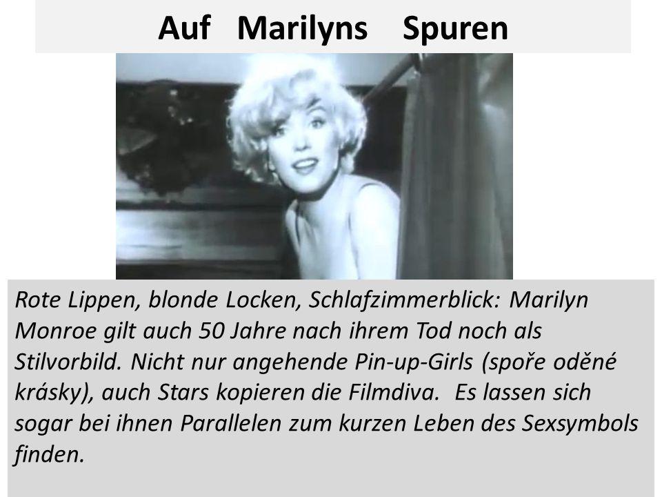 Rote Lippen, blonde Locken, Schlafzimmerblick: Marilyn Monroe gilt auch 50 Jahre nach ihrem Tod noch als Stilvorbild.