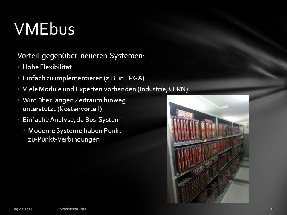 Vorteil gegenüber neueren Systemen: Hohe Flexibilität Einfach zu implementieren (z.B.