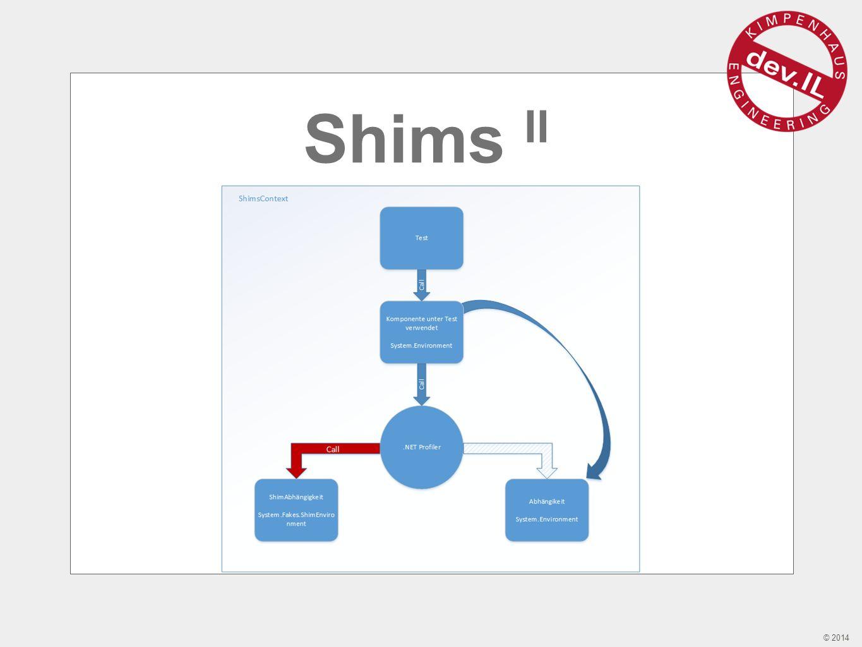 © 2014 Shims II