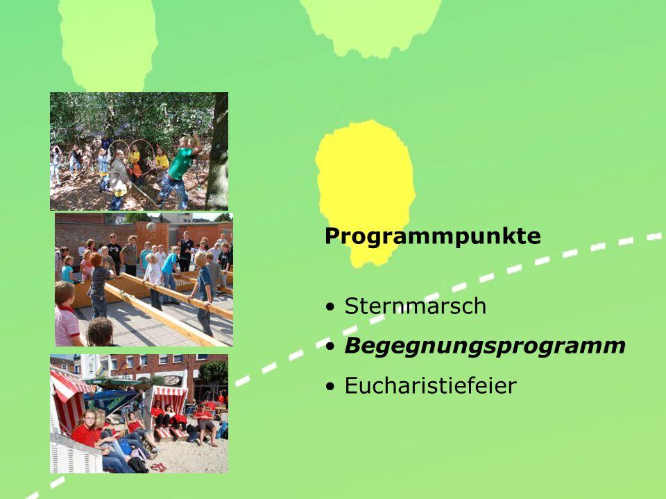 Sternmarsch… Pilgern heißt unterwegs sein! Unterwegs in Gemeinschaft macht Spaß!!!