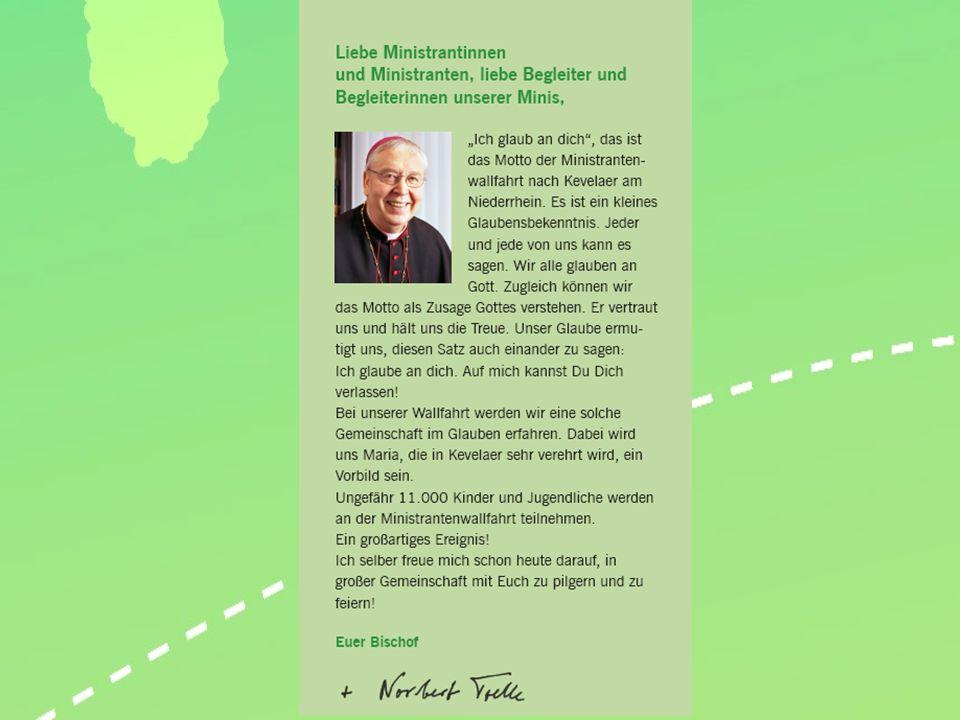 2. Nordwestdeutsche Ministrantenwallfahrt 15. - 17 Juni 2012 Kevelaer