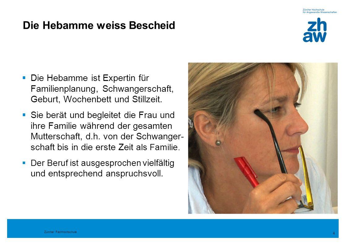 Zürcher Fachhochschule 25 Unterrichtsformen  Studium in Kleingruppen  Skillstraining  Lernen von der Zielgruppe  Lernprozessbegleitung und Mentoring