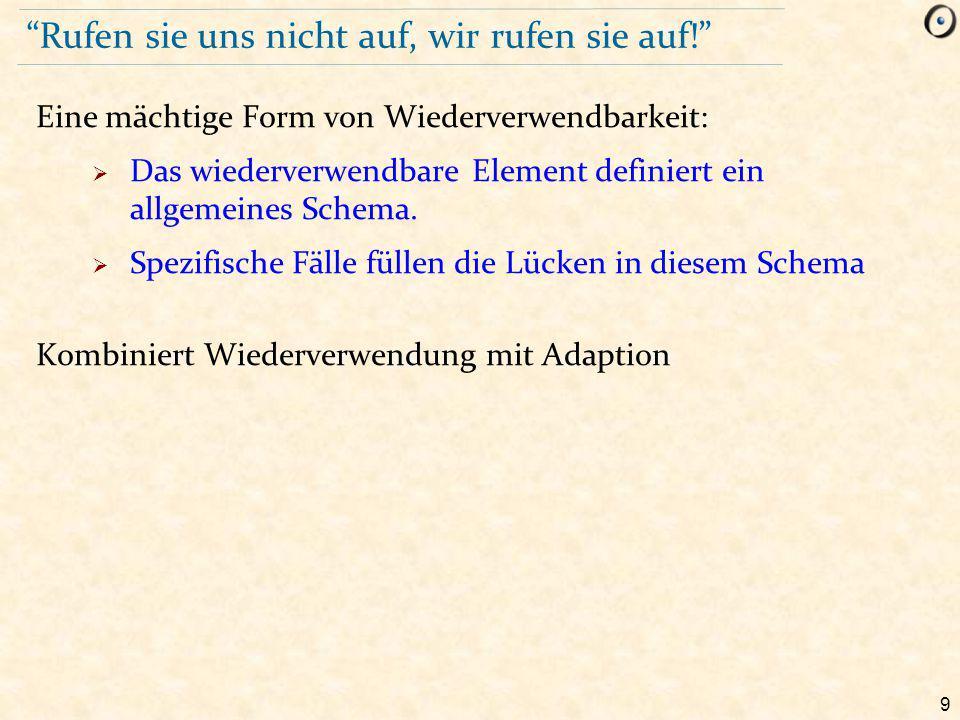 110 Die Doppeldeutigkeit auflösen class D inherit LIST [T ] select copy, is_equal end C rename copy as C_copy, is_equal as C_is_equal,...