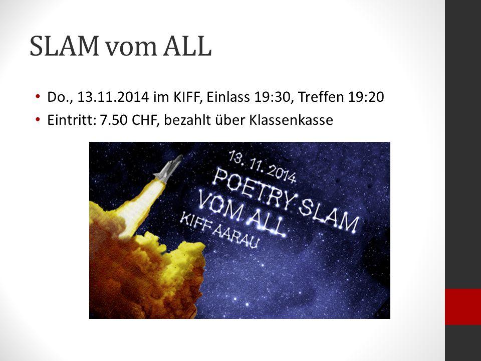 SLAM -Poetry
