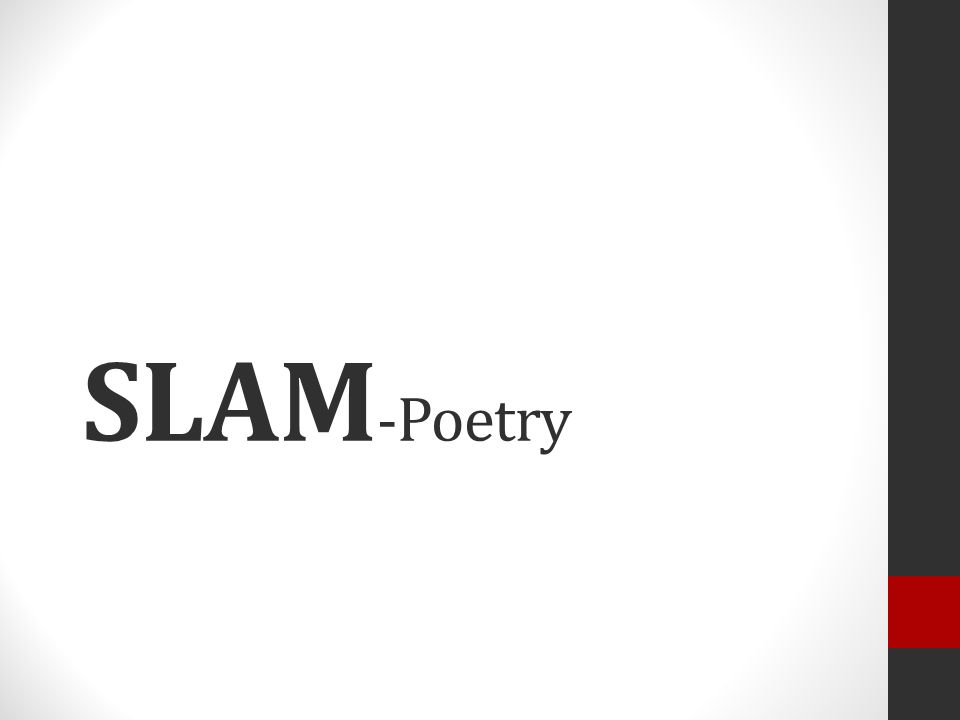 SLAMs beurteilen Der Text (Inhalt) … … hat Bezug zur Realität / ist aus dem Leben gegriffen.