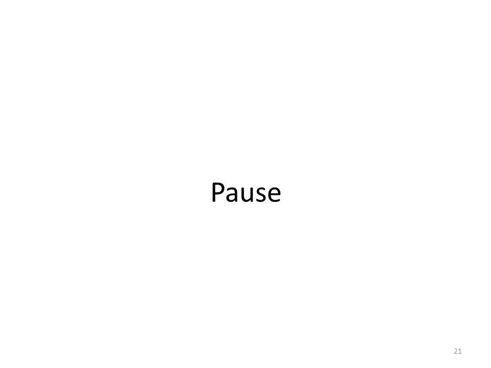 Pause 21