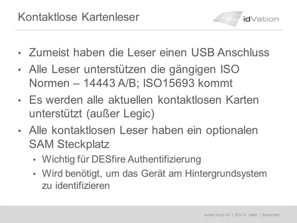 exceet Group AG | 9004 St.Gallen | Switzerland Dongles bzw.