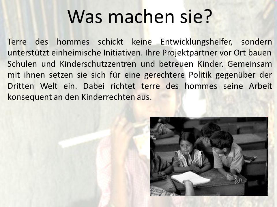 Und in Deutschland? In Deutschland engagieren sich Menschen in 145 Orten ehrenamtlich für Kinder.