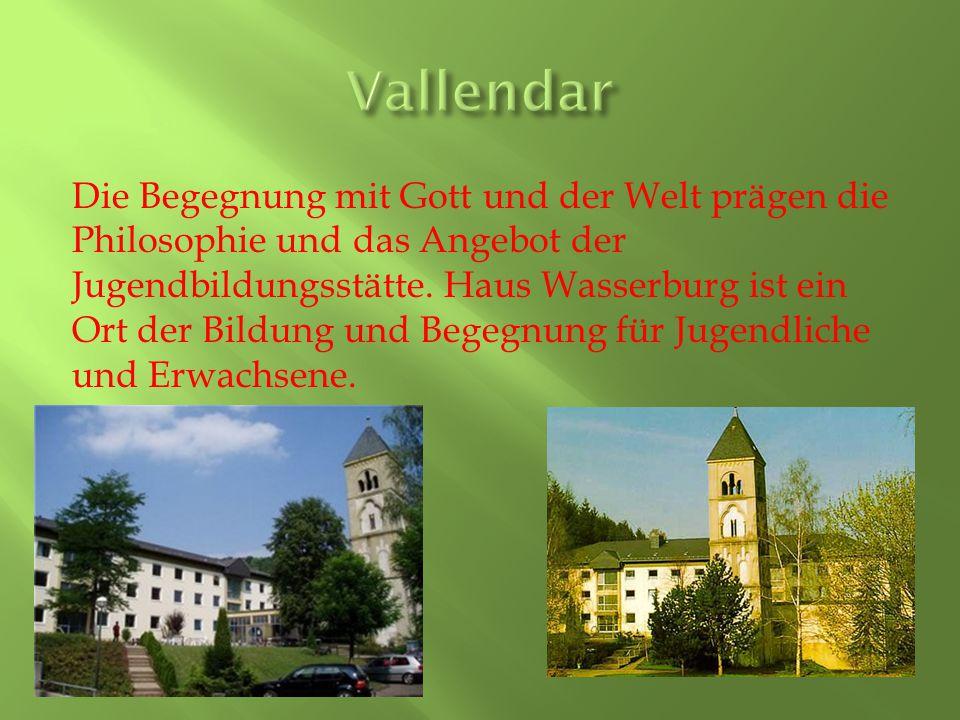 Die Begegnung mit Gott und der Welt prägen die Philosophie und das Angebot der Jugendbildungsstätte.