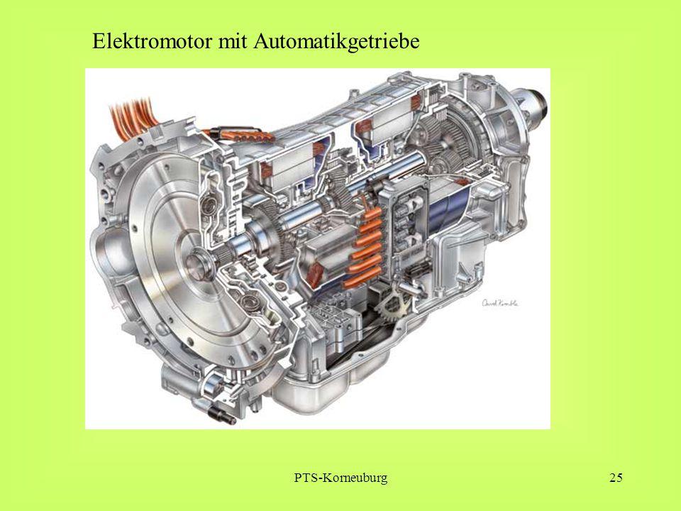 PTS-Korneuburg25 Elektromotor mit Automatikgetriebe