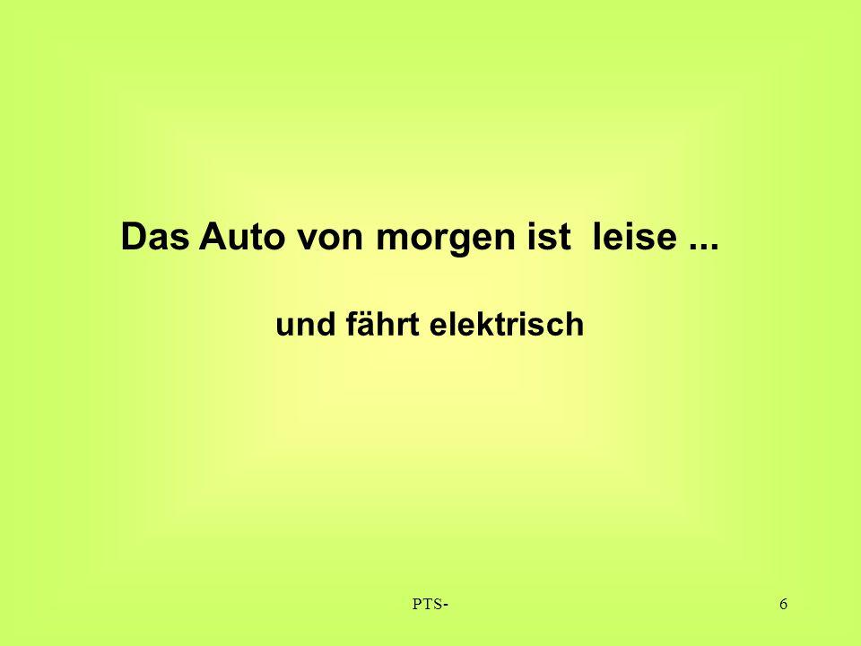 """PTS-Korneuburg17 Elektroauto mit 15kW=20PS: 98 Gramm CO2 pro km (Bei Betankung mit """"normalem Strommix)"""