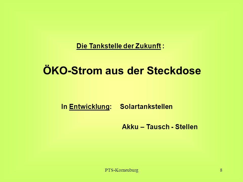 PTS-Korneuburg9 Wegen des steigenden Stromverbrauches von durchschnittlich prognostizierten 2,5% p.a.