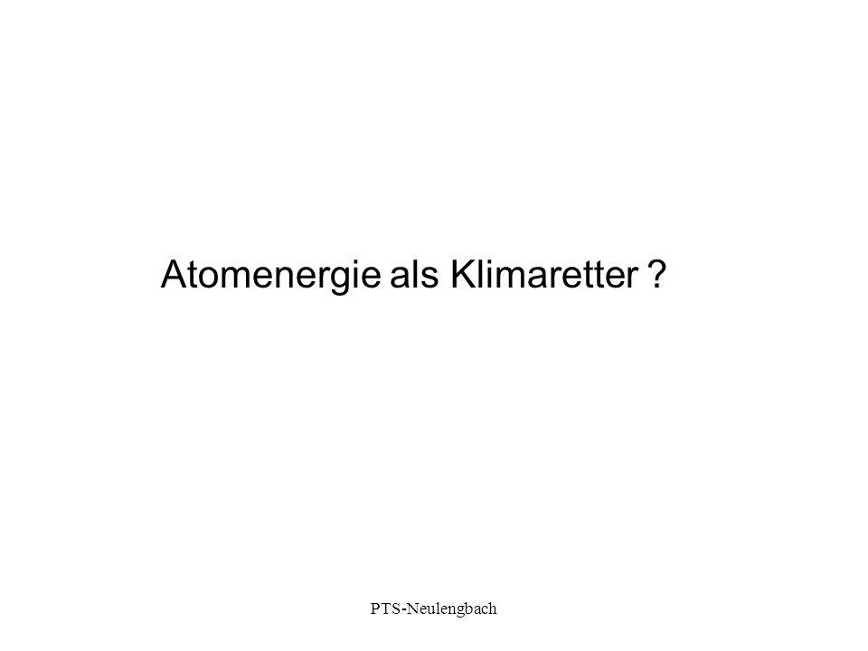 Atomenergie als Klimaretter ? PTS-Neulengbach