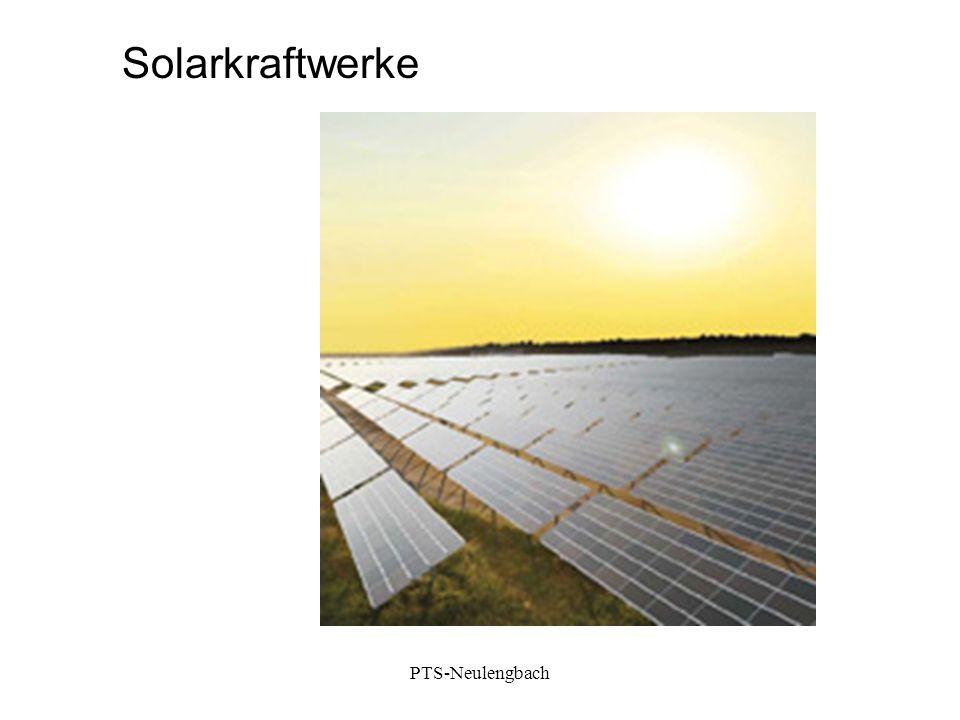 Solarkraftwerke PTS-Neulengbach
