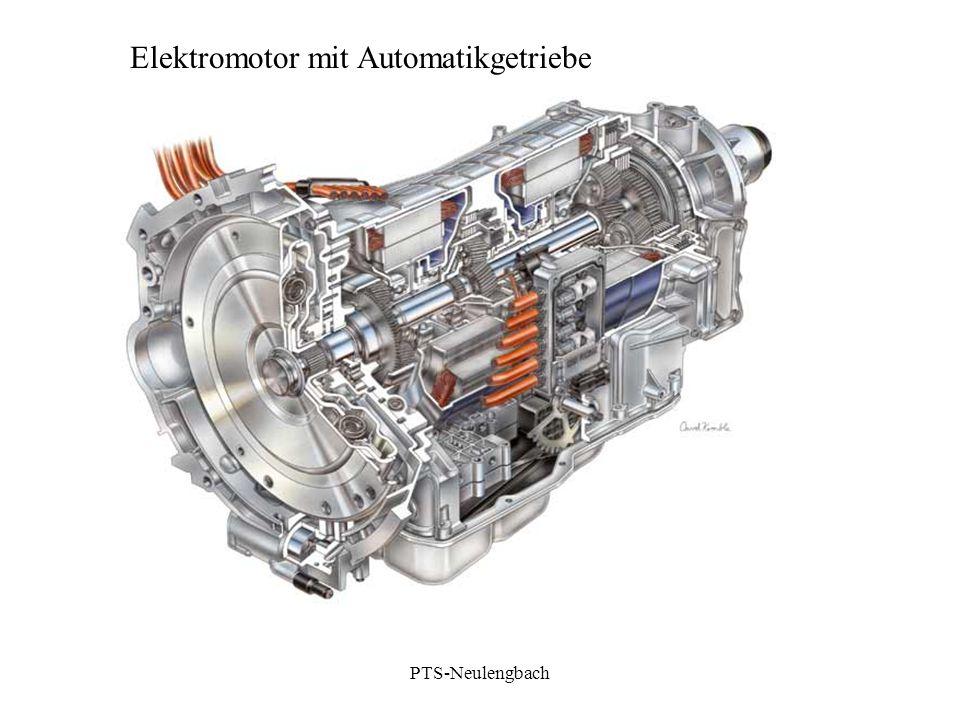 Elektromotor mit Automatikgetriebe PTS-Neulengbach