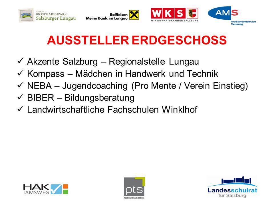 AUSSTELLER ERDGESCHOSS KfZ Werkstätte Graggaber Mauterndorf Ehrenreich Bau GmbH Tamsweg Digital Elektronik Tamsweg Schlosserei Arnold Sampl St.
