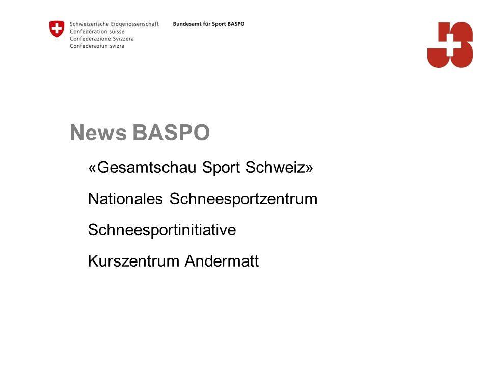 40 Bundesamt für Sport BASPO Jugend+Sport Statistik 2013 - (Skifahren, Snowboard, Skilanglauf) - Kinder- und Jugendsport (ohne NG7) 48'977 Kinder und Jugendliche