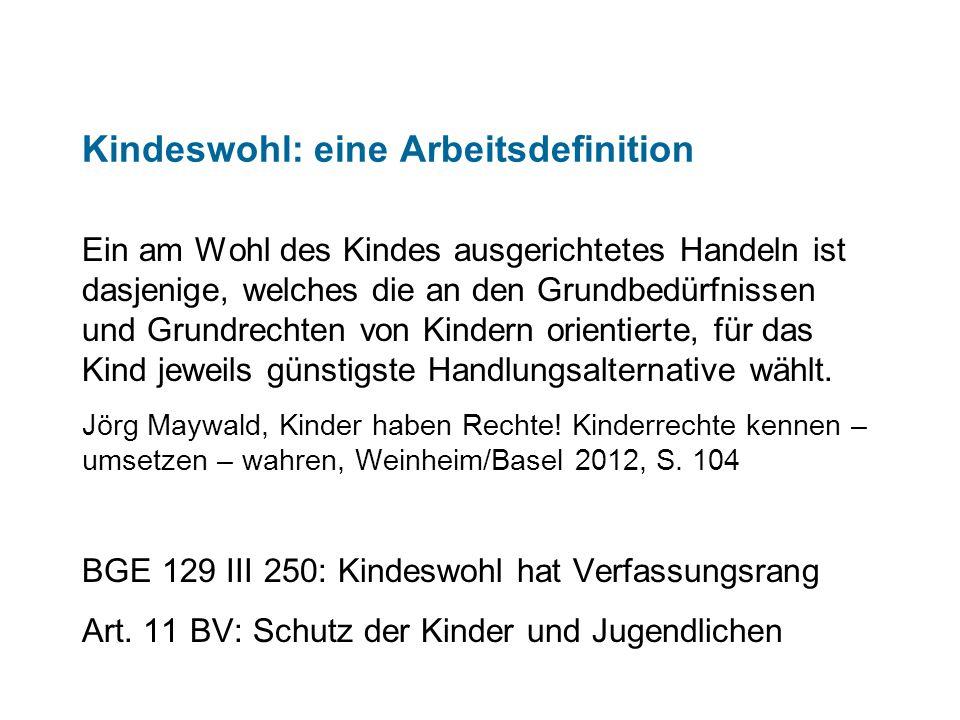 Die Rechte des Pflegekindes in der UN-KRK Art.3: Kindeswohl; Abs.