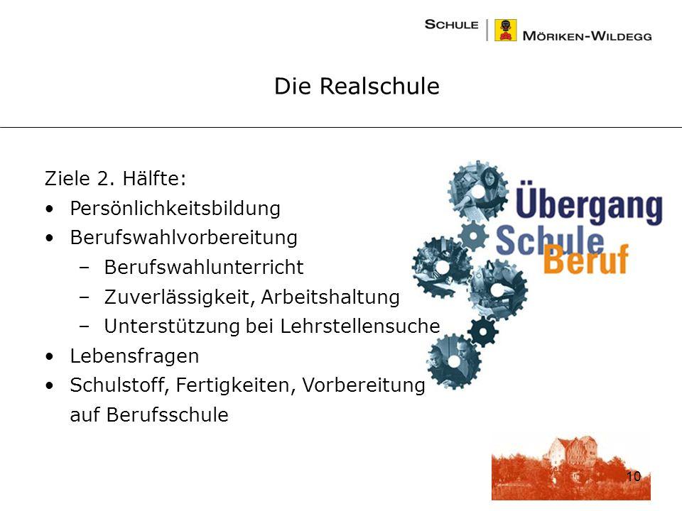 10 Die Realschule Ziele 2.