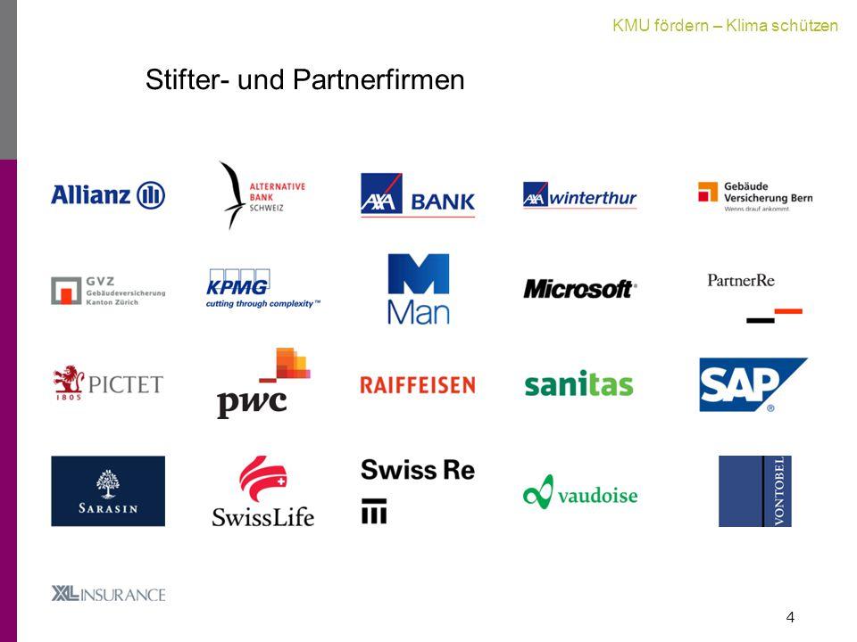 KMU fördern – Klima schützen Stifter- und Partnerfirmen 4