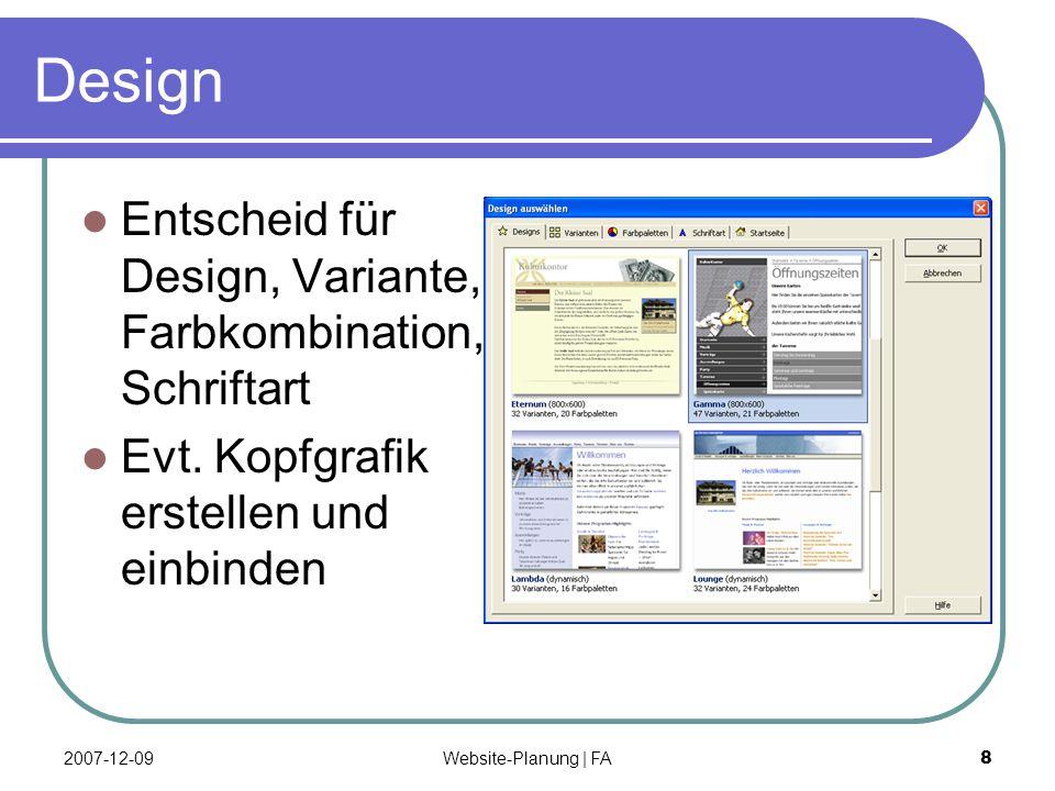 Website-Planung | FA 9 Domain Abklären, ob der gewünschte Domain- Name noch frei ist.