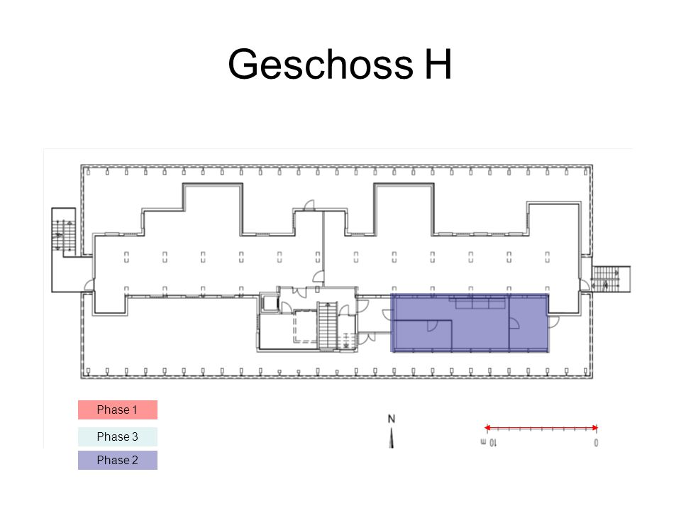 Geschoss H Phase 1 Phase 3 Phase 2