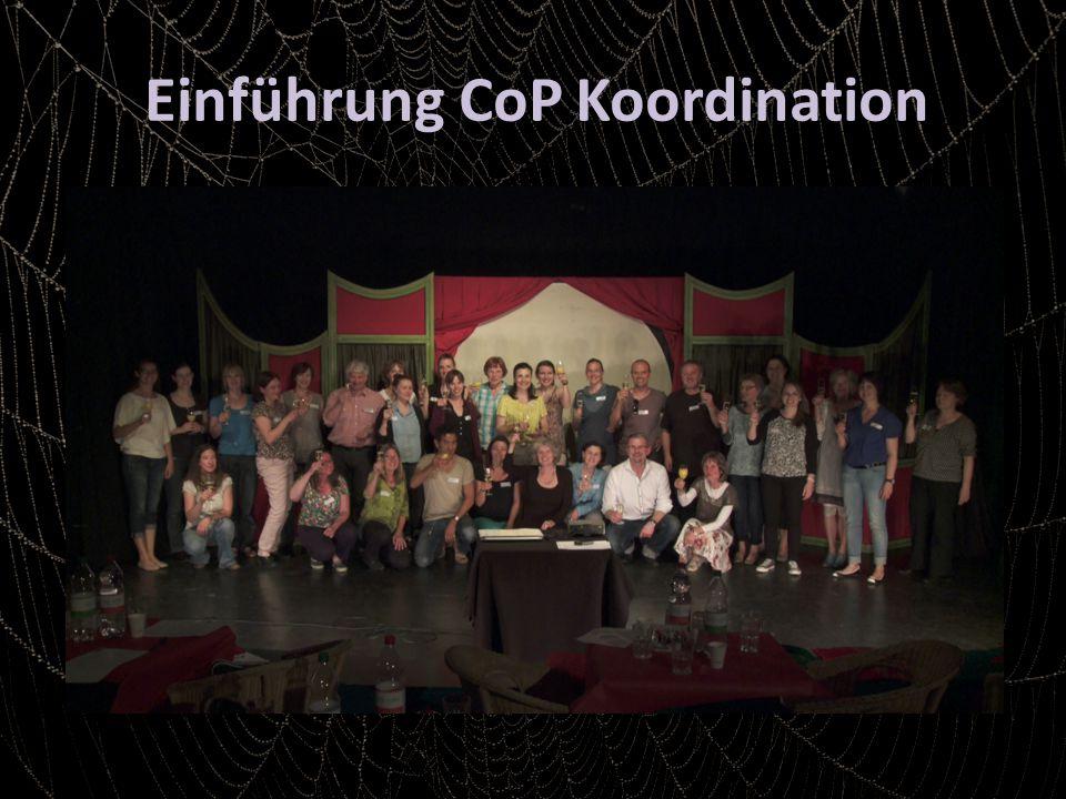 Einführung CoP Koordination