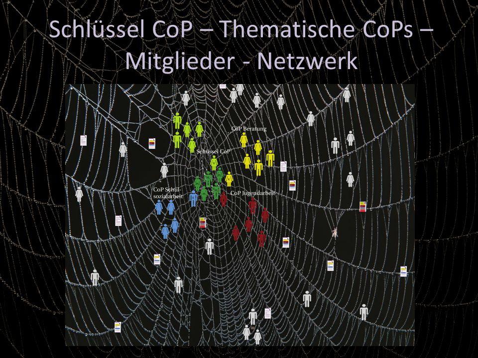 Schlüssel CoP – Thematische CoPs – Mitglieder - Netzwerk