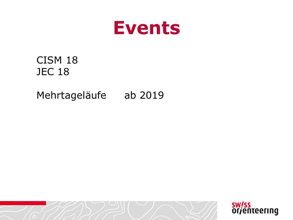 Events CISM 18 JEC 18 Mehrtageläufeab 2019