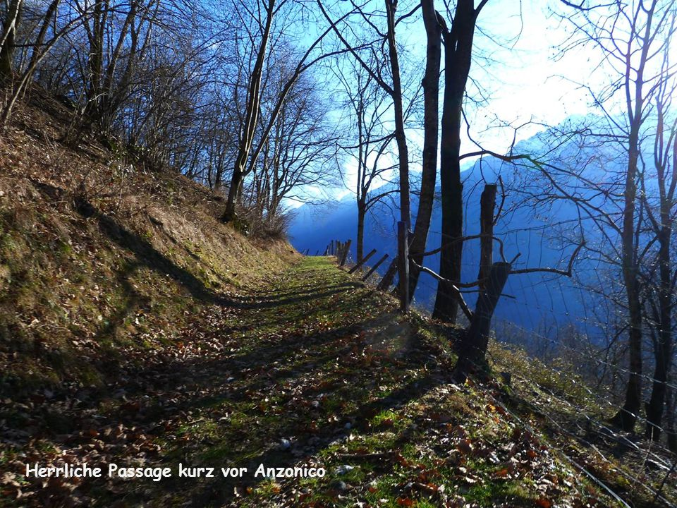 Herrliche Passage kurz vor Anzonico