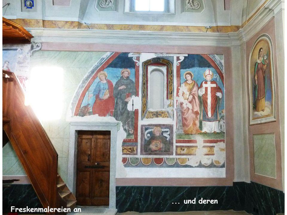... und deren Freskenmalereien an