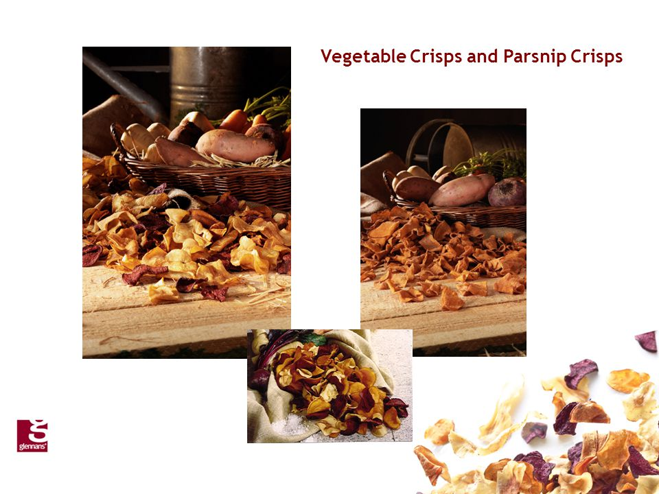 Vegetable Crisps and Parsnip Crisps