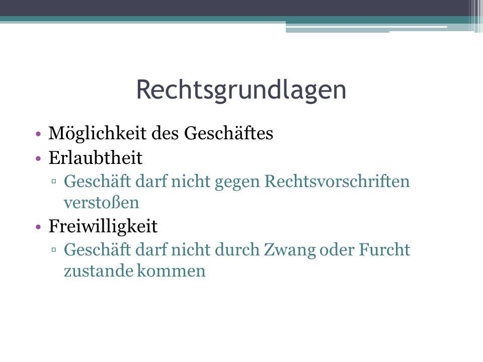 Rechtswirkung Angebot 3.