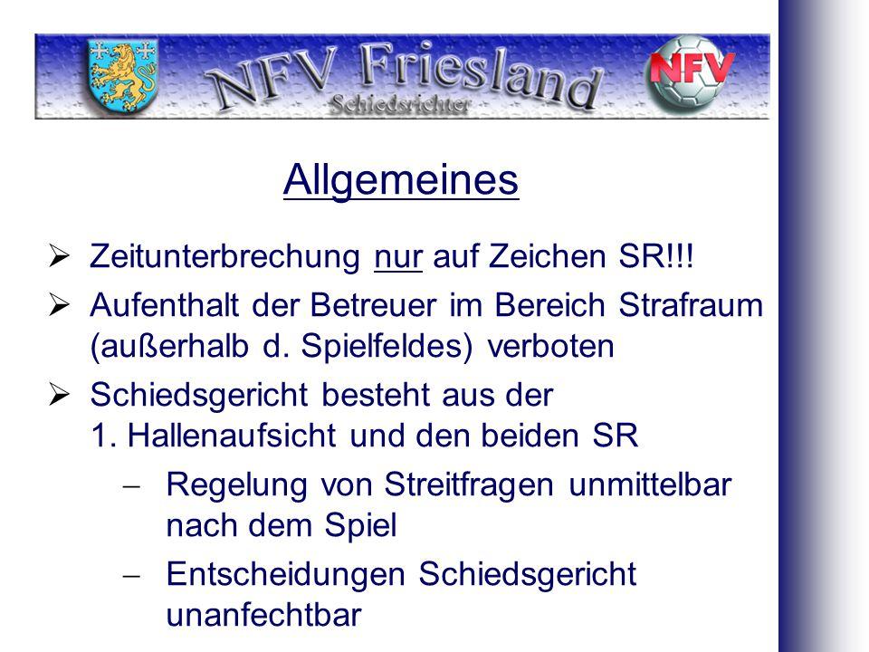 Allgemeines  Zeitunterbrechung nur auf Zeichen SR!!.