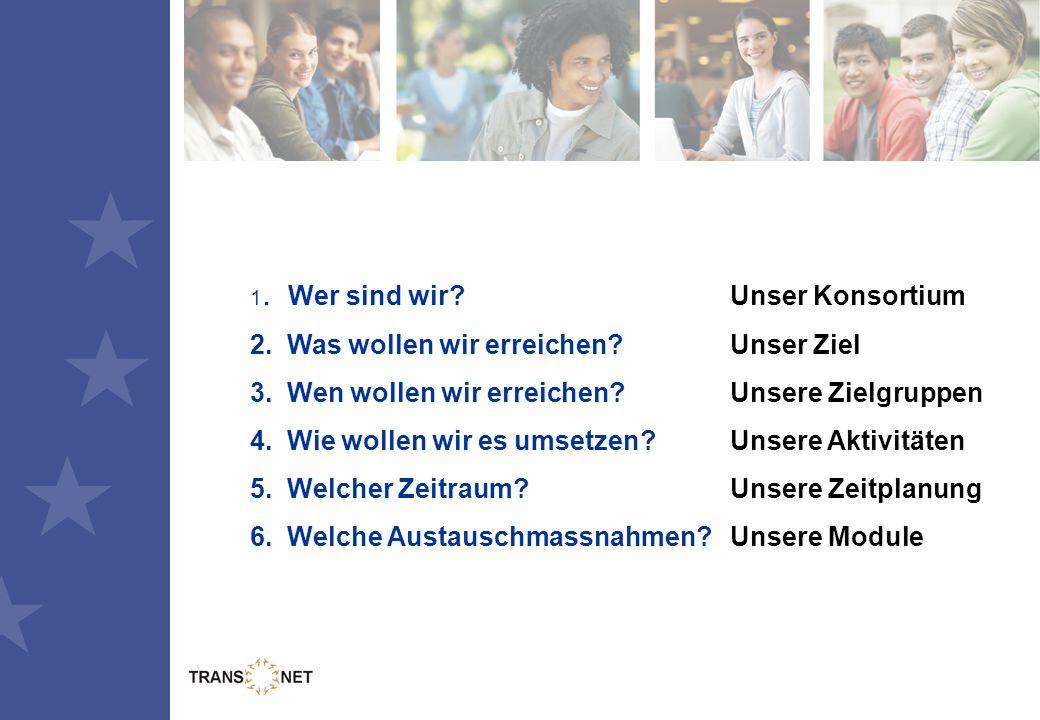 Unser Konsortium Die Projektpartner aus 4 EU Mitgliedsstaaten (D, UK, E, NL)