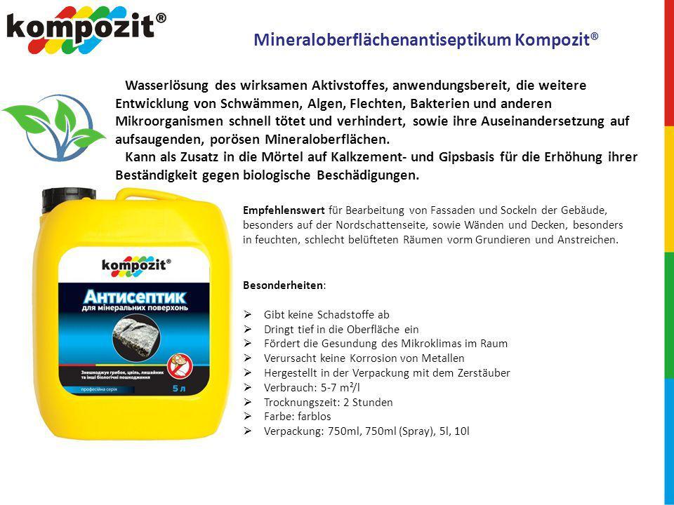 PVC-Klebstoff D3 Kompozit® Empfehlenswert fürs Zusammenkleben von Möbelteilen, Souvenirs, für Buchbindearbeiten, Kanzleizwecke unter Alltags- und Betriebsbedingungen.