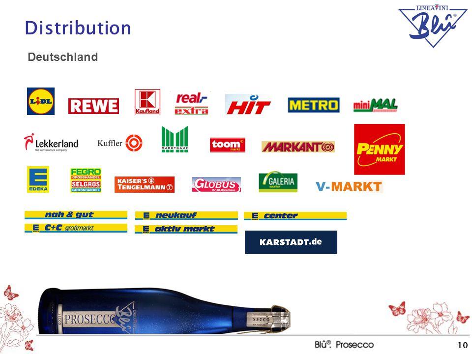 10 Distribution Deutschland