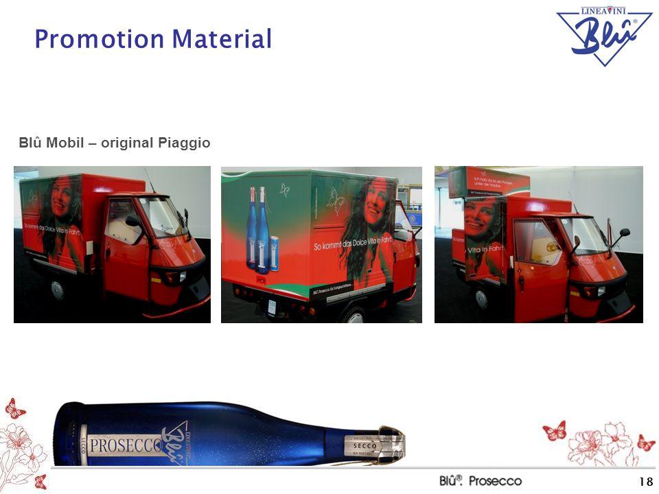 18 Promotion Material Blû Mobil – original Piaggio