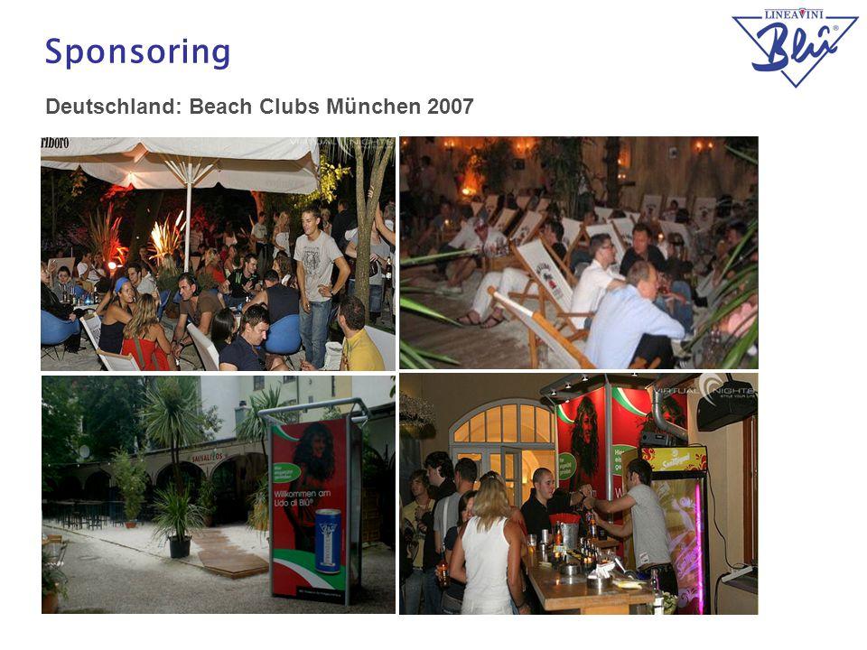 21 Sponsoring Deutschland: Beach Clubs München 2007