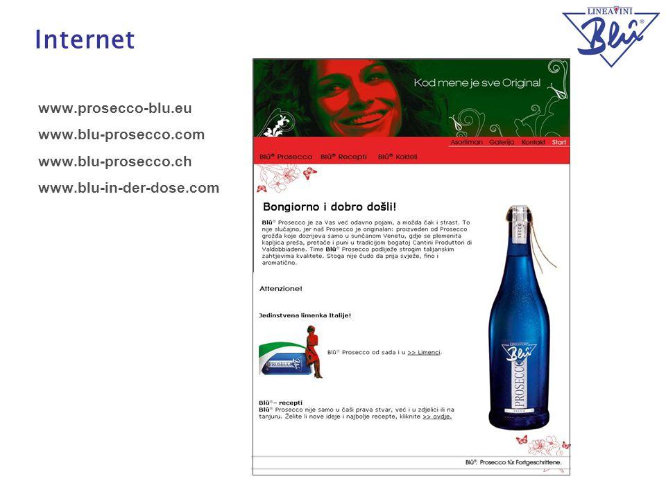27 Internet www.prosecco-blu.eu www.blu-prosecco.com www.blu-prosecco.ch www.blu-in-der-dose.com