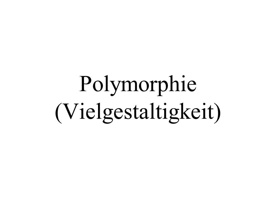 for(i=0;i<10;i++){ v[i]->print(); } for(i=0;i<10;i++){ delete v[i]; } Alles wie im letzten Programm (nichts wurde verändert).