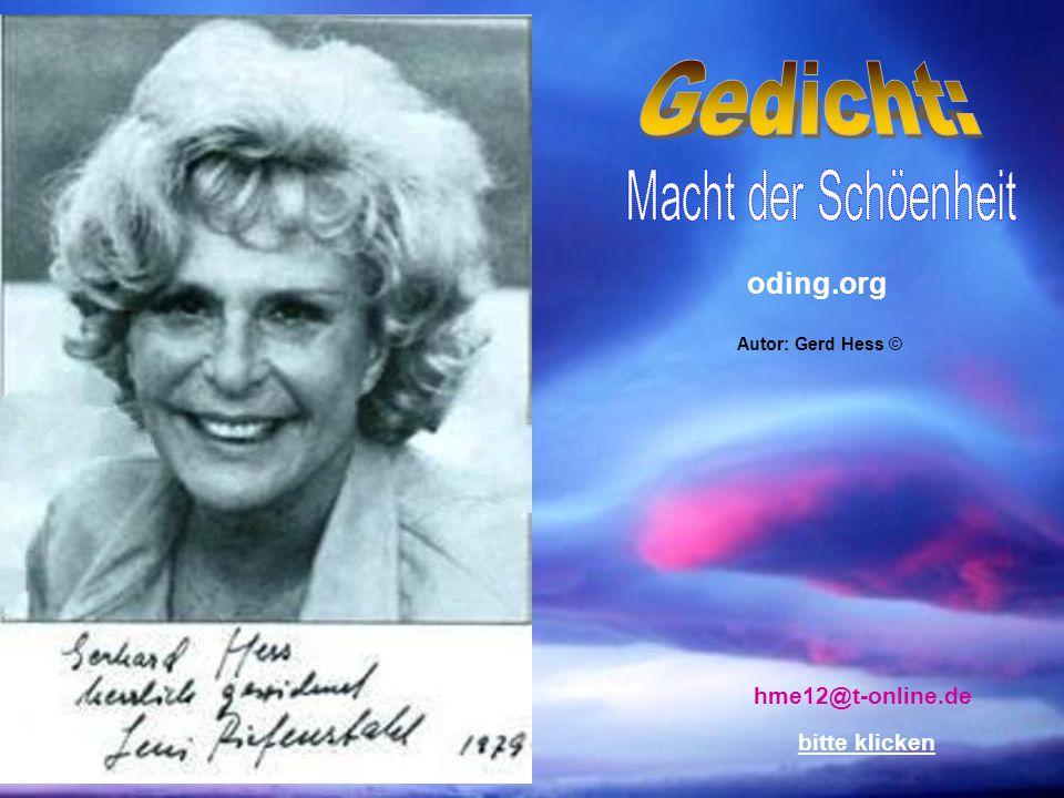 oding.org hme12@t-online.de bitte klicken Autor: Gerd Hess ©