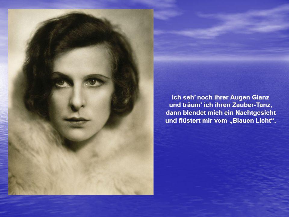 Helene Bertha Amalie Riefenstahl (1902-2003), die geniale, wunderschöne Tänzerin, Schauspielerin, Filmregisseurin, Filmproduzentin, Fotografin, war eine vielseitig begabte Super-Frau.