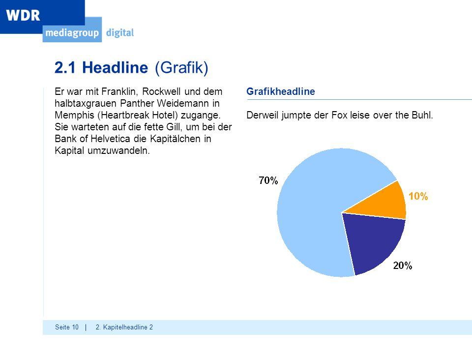 Seite 10 2.1 Headline (Grafik) 2.