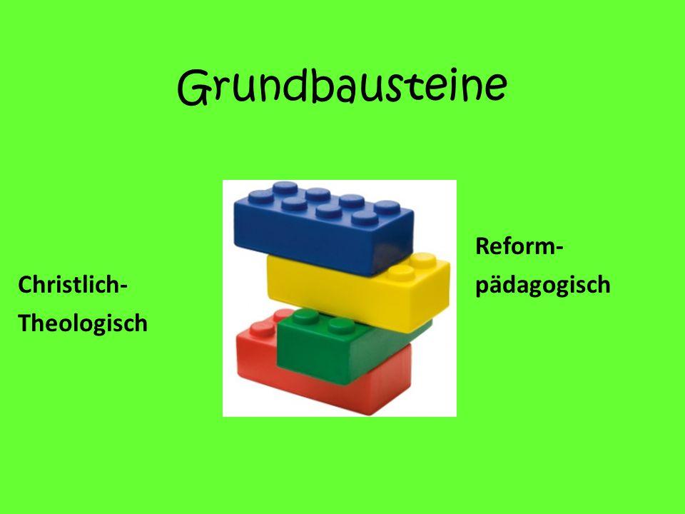 Grundbausteine Christlich- Theologisch Reform- pädagogisch