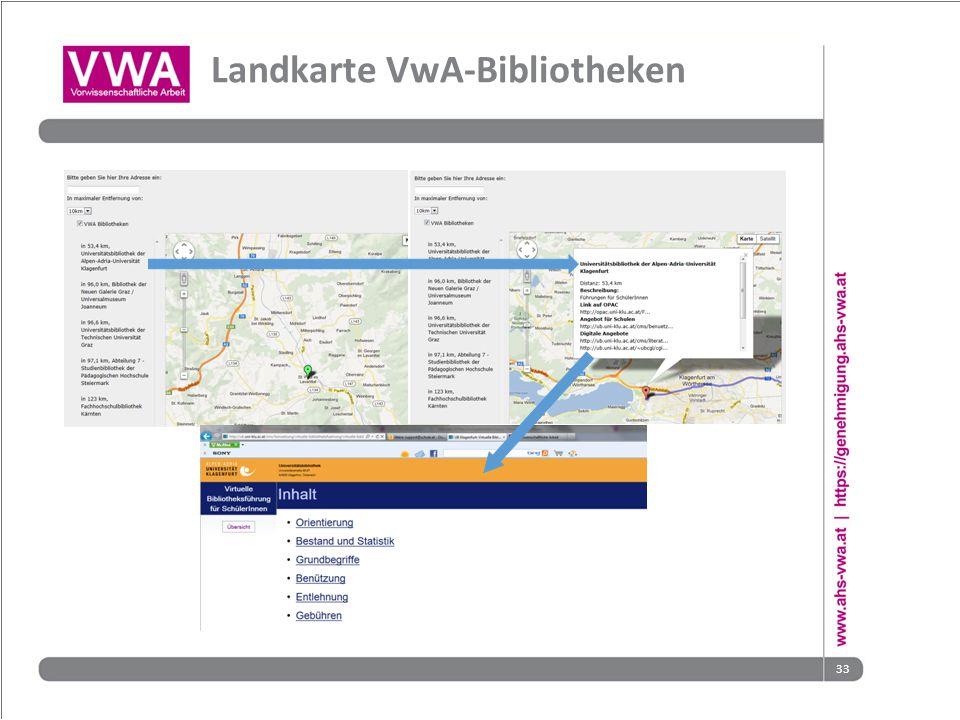 33 Landkarte VwA-Bibliotheken