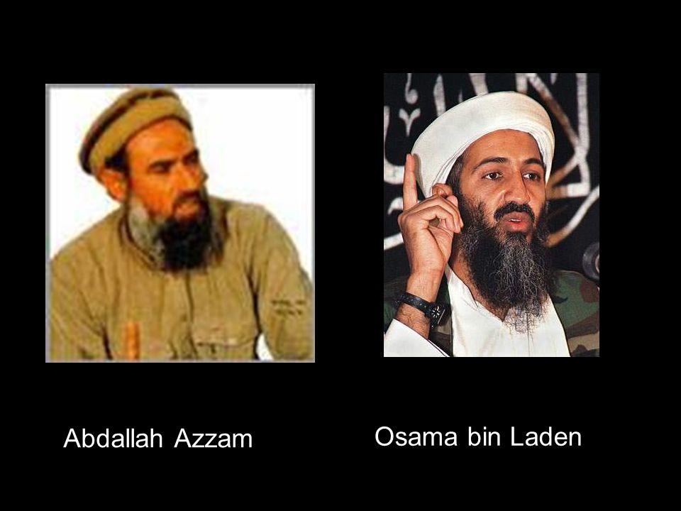 Aufbau islamisch-fundamentalistische Terrororganisation mit weltweitem losem Netzwerk  internat.