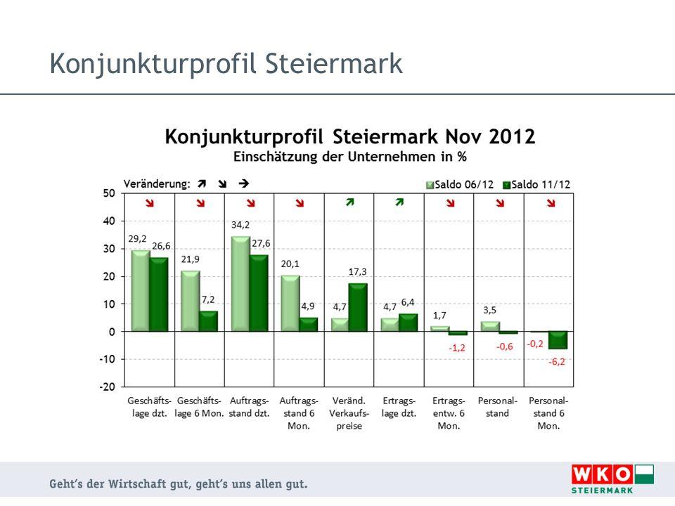 Konjunkturprofil Steiermark