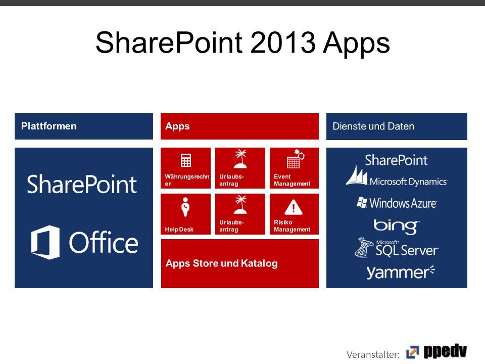Veranstalter: SharePoint 2013 Apps