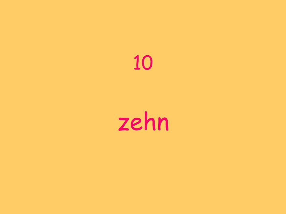 10 zehn